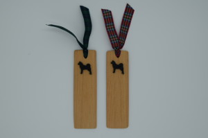 Finnish Spitz wooden Bookmark by Magic Thistle Crafts –  £5.00