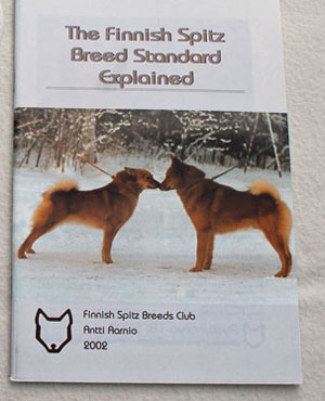 Finnish Spitz Breed Standard book    –  £5.00