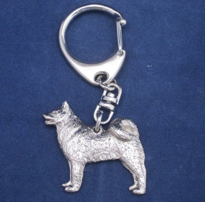 Finnish Spitz metal key ring   –  £4.00 * SOLD OUT *