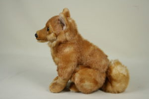 Finnish Spitz soft toy by Vivantti – £17.50 * Now back in stock! *